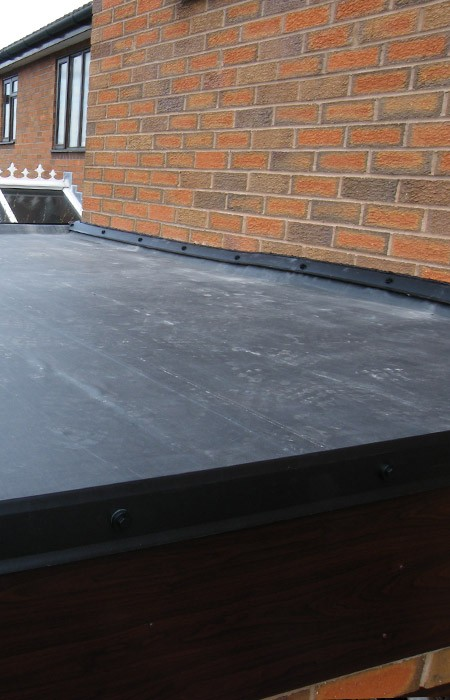 Rubber EPDM roof